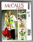 SEWING PATTERN: CHRISTMAS APRONS, OVEN MITTS, HAT, TABLE LEG DECORATIONS, 6860 - http://sewingpins.net/sewing-cabinets/sewing-pattern-christmas-aprons-oven-mitts-hat-table-leg-decorations-6860/
