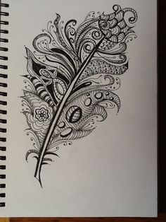 Zentangle feathers | by Carol Cooke57