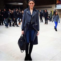 THE OLIVIA PALERMO LOOKBOOK By Marta Martins: Olivia Palermo in Paris