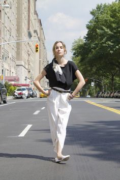 #fashion #style #nyc #blog #blogger #chanel #sandro #vintage #belt #silk #scarf #jeffreycampbell #zara #newyork #summer #travel