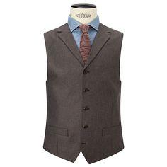 2 pocket vest with lapels Menswear, Vest, Brown, Lapels, Jackets, Stuff To Buy, Dresses, Fashion, Down Jackets