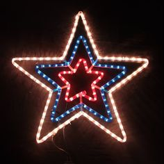 This 3 layer LED Nativity Star light with steel frame construction has 2…