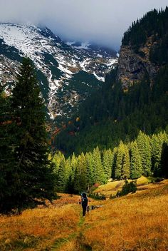 Fagaras, in the Romanian Carpathian Mountains.