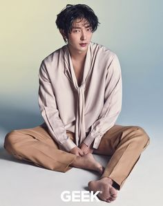 Lee Jun Ki - Geek Magazine May Issue '16
