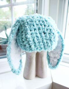 3 to 6m Infant Bunny Hat Baby Beanie Crochet Boy Girl Hat - Bunny Baby Hat Mint Blue White Flopsy Rabbit Hat Photo Prop on Etsy, $28.00