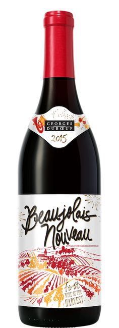 "Beaujolais Nouveau: I want to start tradition for thanksgiving with hubby. ;is a red wine made from Germany grapes produced in the Beaujolais region of France. It is the most popular vin de primeur, fermented for just a few weeks before being released for sale on the third Thursday of November. This ""Beaujolais Nouveau Day"" used to see heavy marketing, with races to get the first bottles to different markets around the globe."