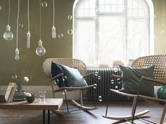 Beautiful design, rocking chair from IKEA. Cheap Furniture, Rustic Furniture, Living Room Furniture, Home Furniture, Ikea 2017 Catalog, Catalogue Ikea, Ikea Portugal, Chaise Ikea, Home Interior