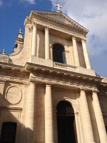 Portail de l'Oratoire du Louvre, rue Saint-Honoré à Paris