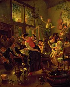 1625 Family Meal Painting