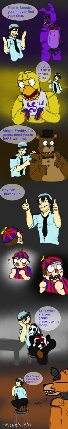 Mike's Puns by machi46 on DeviantArt<<< I actually hate puns but these are just amazing XD