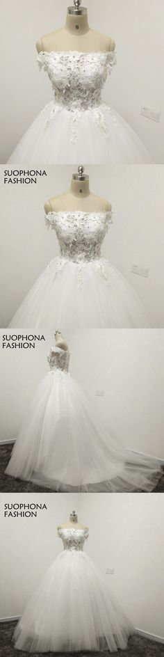 Vestido de noiva Fashion Ball gown Wedding dresses 2018 Lace Beaded White Illusion  Wedding gowns Plus size robe de mariee 28017773e493
