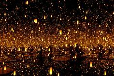 Fireflies on the Water - Yayoi Kusama - 2002