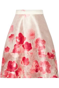 Also love this Lela Rose skirt. The florals are beautiful.
