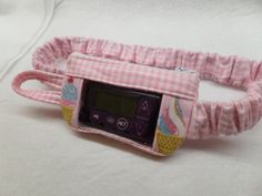 Flannel Ice Cream Window Insulin Pump Case by DazzlingPumpPouches