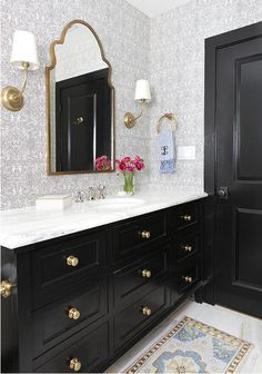 Why adding a touch of black in every room is always a good idea! - The Enchanted Home