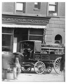 Upclose view of 109th Street & Broadway - Upper West Side - New York, NY 1910