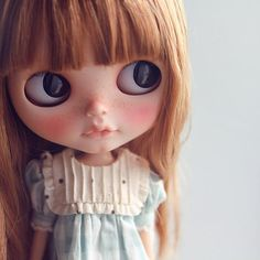 Blythe ✿✿✿  Check the online directory for Blythe doll customizers at http://www.dollycustom.com