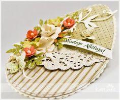 Kartka wielkanocna#2 Paper Crafting, Stamping, Scrap, Easter, Spring, Cake, Desserts, Crafts, Ideas
