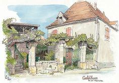 Castelfranc, rue des Marguilliers   Flickr - Photo Sharing!