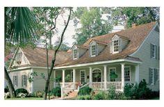 2151 sq ft, 3 bd., 2 baths, 2 levels... LOVE this country home design--- esp. front PORCH! [houseplans.com]