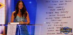 Exclusive: Names on Trish's HOF scroll revealed; DVD available Trish Stratus, Jeff Hardy, Becky Lynch, Women's Wrestling, Wwe Divas, Names, Besties, Geek, Twitter