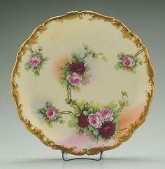 217: Limoges serving plate, : Lot 217