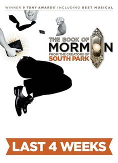 Until 11/25 only! Reminder! THE BOOK OF MORMON @ Pantages. Can anyone spot us some tickets @ babysitting?