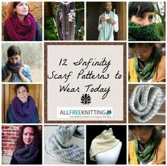 Explore this collection of easy knit scarf patterns that are perfect for winter: 12 Infinity Scarf Patterns to Knit Today!