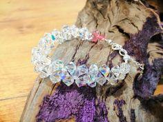luxury bracelet made by Swarovski® crystal components Bracelet Making, Swarovski Crystals, Luxury, Bracelets, Making Bracelets, Bracelet, Arm Bracelets, Bangle, Bangles