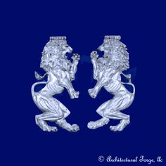 Lion - Pair of Lion Wall Hangings