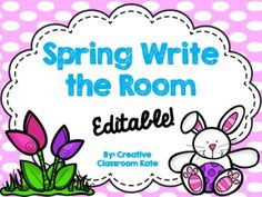 Fun editable spring activity to practice spelling and sight words with kiddos! Spelling Patterns, Recording Sheets, Spring Activities, Your Word, Sight Words, Blank Cards, Language Arts, Classroom Ideas, Presentation