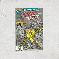 New in The Book Cottage: Hawk & Dove Armageddon 2001 Crossover No 2 | Creating Unity by D.C. Comics | 1990s Vintage Graphic Novel | 90s Kids and Teens Waverider Book by TheBookCottage