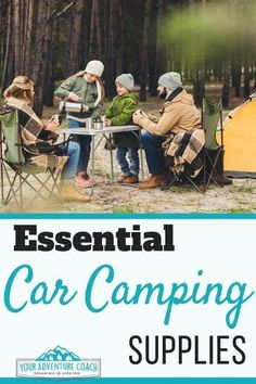 The best car camping gear list Gearing up for your first or next car camping trip doesn't have to be such a hassle! Check out the best car camping gear items in this post to streamline packing for your next car camping trip. Winter Camping, Family Camping, Tent Camping, Camping Gear, Camping Hacks, Outdoor Camping, Backpacking Gear, Camping Stuff, Minivan Camping