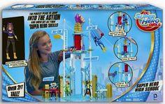 ToyzMag.com » DC Super Hero Girl des figurines articulées
