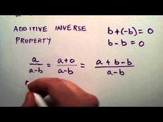 Algebraic Properties Part 3 , Intermediate Algebra , Lesson 20