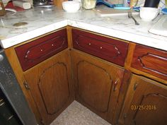 Dresser Refinished With General Finishes Gel Stain On
