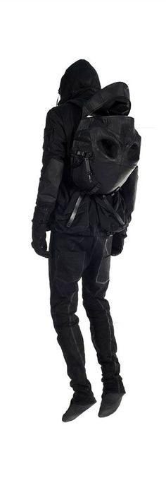 "Image search result for ""cyberpunk mode""- Image search result for ""cyberpunk mode"" Ninja Goth, Dark Fashion, Mens Fashion, Estilo Geek, Mode Sombre, Streetwear, Post Apocalyptic Fashion, Mode Costume, Cyberpunk Fashion"