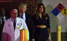 Trump odwiedził ciężko rannego w strzelaninie polityka