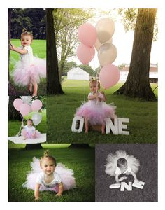One year old photo shoots