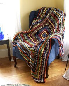 Gale Zucker's Big Ass Granny Afghan