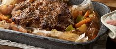 Easy One Pan Beef Roast with Vegetables