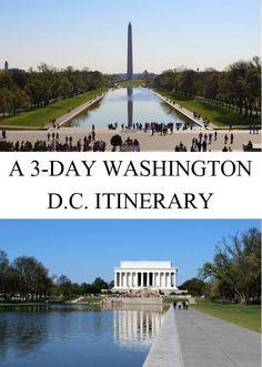 A 3-Day Washington D.C. Itinerary