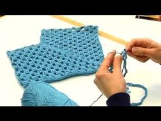▶ How to Crochet an Infant's Poncho : Crocheting Clothes for Kids - YouTube
