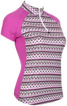 Check out what has for your days on and off the golf course: Lookin' Berry Good (Wildberry) Bette & Court Ladies Harmony S/S CE Print Golf Shirt Golf Attire, Golf Outfit, Golf Apparel, Golf Fashion, Staple Pieces, Ladies Golf, Golf Shirts, Berry, Stylish