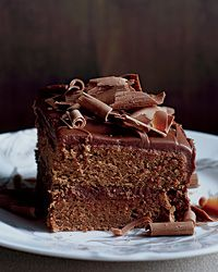 Milk-Chocolate-Frosted Layer Cake Recipe on Food & Wine
