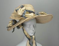 1820s hat via The Museum of Fine Arts, Boston
