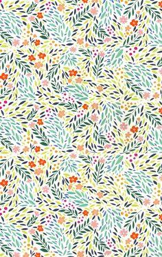 papier fabrik: tiny floral print
