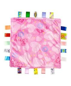 """Taggies Plush Baby Girl Security Blanket PINK Love Nursery Toy by Little Taggies. $21.95. Ages 0+. """"Love"""" Security Blanket. Taggies. 12x12. Pink Taggies """"Love"""" Blanket 12x12"""
