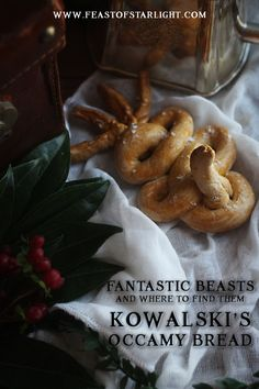 Fantastic Beasts and Where to Find Them: Jacob Kowalski's Occamy Bread recipe he created for his bakery in the movie.
