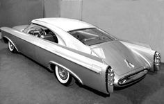 1956 Ghia Chrysler Norseman concept. The car was to be a featured attraction of Chrysler's auto show exhibit for 1957 and was shipped by Ghia to New York City in July 1956. The car was shipped on the ocean liner SS Andrea Doria, which was involved in a collision off the coast of Massachusetts and sank, with the loss of fifty-one lives and all cargo.